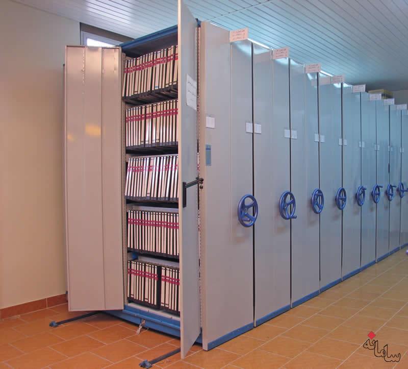 اداری-کمد فلزی و سیستم بایگانی